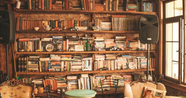 boekenkast industrieel mangohout
